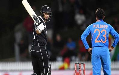 Ind Vs NZ 1st ODI: Ross Taylor and Tom Latham fireworks beat India by 4 wickets