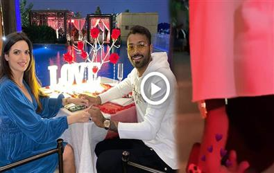 Video: This is how Hardik Pandya and Natasa Stankovic celebrated Valentines day