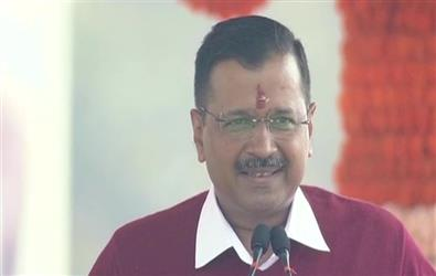 Arvind Kejriwal takes oath as Delhi CM for the third time, says its the victory of the people