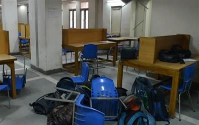Jamia pulls itself from CCTV footage showing police lathicharge inside library, says not released by us