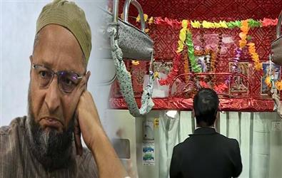 Asaduddin Owaisi slams PM Modi over installation of Mini temple of Lord Shiva in Kashi-Mahakal Express
