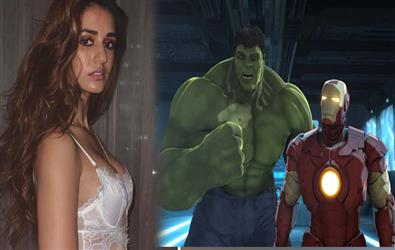 Disha Patani reveals her favourite Avenger in a question answer session on twitter with fans