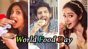 World Food Day: Celebrities reveal their favourite dishes