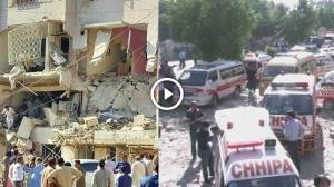 Watch: 5 dead, 20 injured in Karachi building explosion, 'civil war' like situation emerges