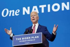 """Give vote to me, get vaccine for free"", Biden the latest one to chant"