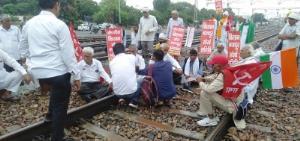 Rail Roko Andolan by farmers