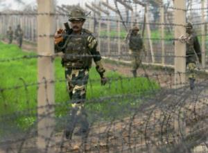 waepons and drugs seized in Khemkaran