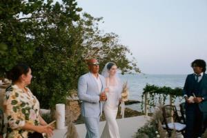 Vin Diesel walked Paul Walkers daughter down aisle