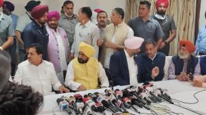 CM Channi Press Conference