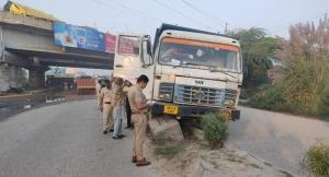farmers protest accident